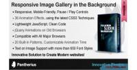 Background fullscreen slideshow jquery slider