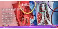 Blazing nex slider fullscreen fast