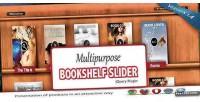 Bookshelf multipurpose plugin jquery slider