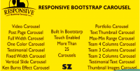 Bootstrap responsive carousel
