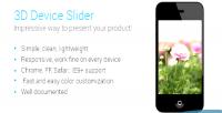 Device 3d slider