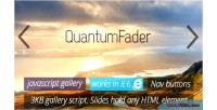 Fader quantum gallery javascript powerful