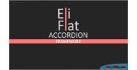 Flat eli accordion framework