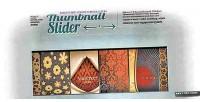 Gallery thumbnail slider