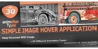 Image simple hover application