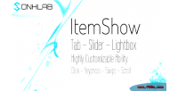 Itemshow twun plugin jquery showcase