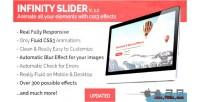 Jquery infinityslider animations css3 slider