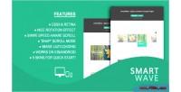 Jquery smartwave plugin carousel content