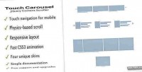 Jquery touchcarousel content slider & scroller