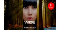 Jquery wide showcase slider