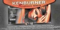 Kenburner responsive plugin jquery slider