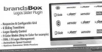 Logos brandsbox plugin jquery slider