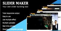 Maker slider composer slider visual