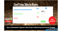 Pricing cloud slider
