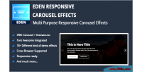 Responsive eden carousel effects