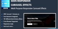 Responsive eden carousel effects