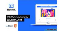 Responsive minimalist banner plugin slider jquery