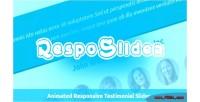 Responsive resposlider testimonial slider
