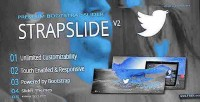 Responsive strapslide plugin slider bootstrap