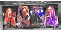 Responsive zeus jquery slider grid css3