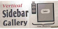 Sidebar vertical slider jquery gallery