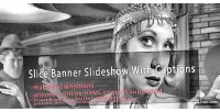 Slice jquery banner captions with slideshow
