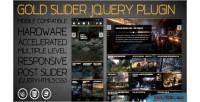Slider gold responsive slider level multiple