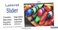 Lateral slider jquery plugin transitions 13 with