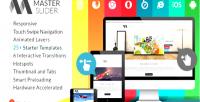 Slider master responsive slider swipe touch