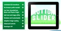 Slider motion jquery plugin