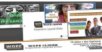 Slider wope the slider layer responsive
