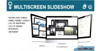 Slideshow multiscreen