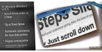 Steps two slider