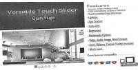 Touch versatile slider