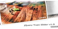 Train jquery slider v1.0