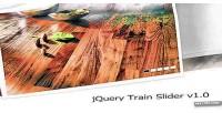 Train jquery slider v1.0