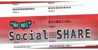 Api no social sharing