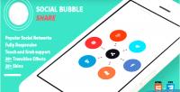 Bubble social share