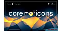 Jquery coremoticons plugin sharing emoticon