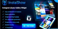Jquery instagram instashow widget gallery