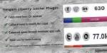 Jquery singam plugin count social