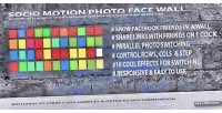 Motion socio wall face photo