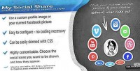 My jquery social share