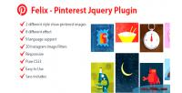 Pinterest felix plugin jquery responsive