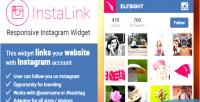 Responsive instalink instagram widget