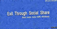 Through exit social share