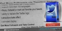 Timeline twitter slider wall twitter jquery