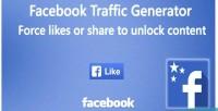 Trafic facebook generator
