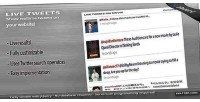 Tweets live jquery plugin