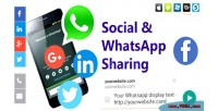 Whatsapp social sharing